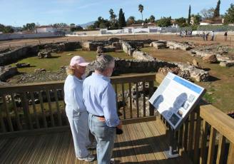 El Ayuntamiento de Marbella acometerá el drenaje de la Basílica Paleocristiana