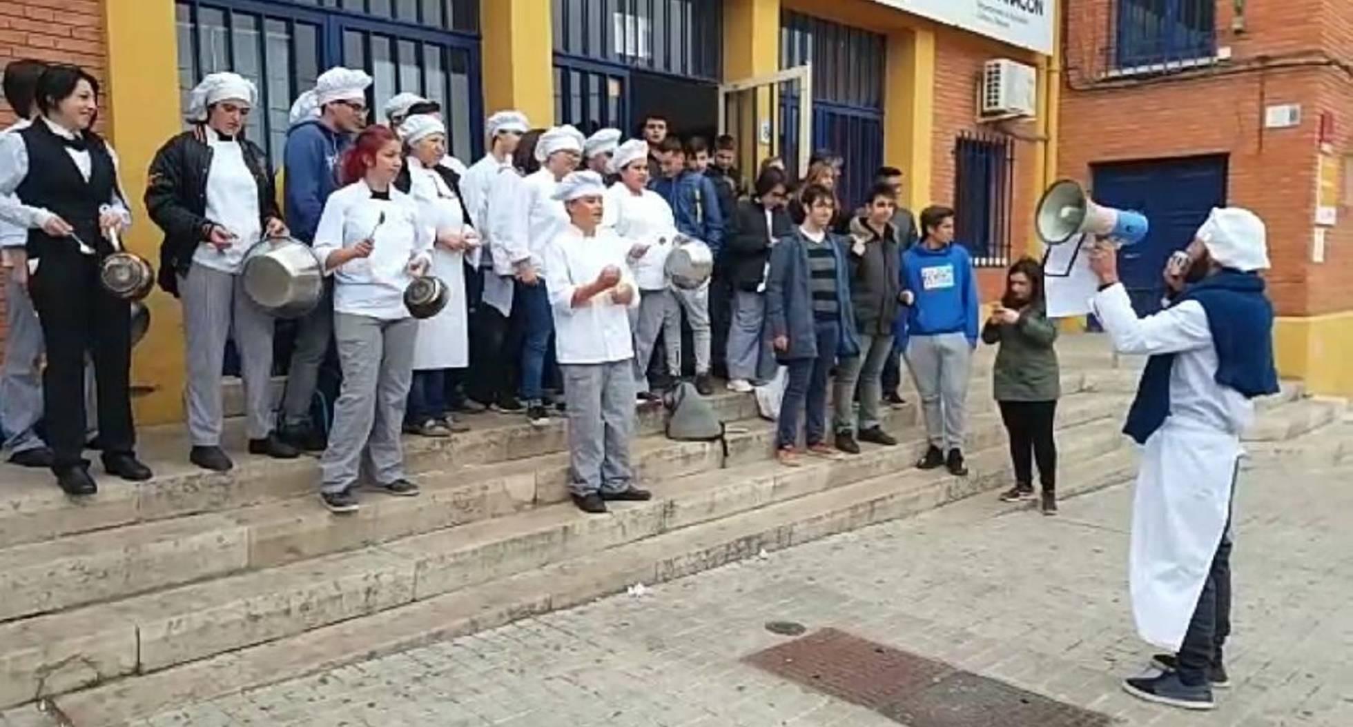 Una plaga de ratas deja sin clase a los estudiantes de cocina de un instituto de Zaragoza