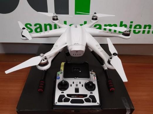 Drones contra los mosquitos