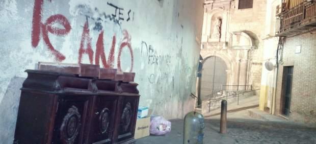 Vecinos de la Merced alertan del «aumento de suciedad y plagas de roedores» en este barrio del casco histórico