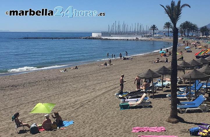 Tiempo espectacular para iniciar la Semana Santa en Marbella
