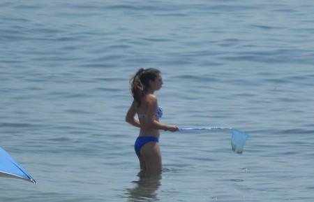 El PSOE pide medidas «urgentes» contra la medusas en las playas de Marbella