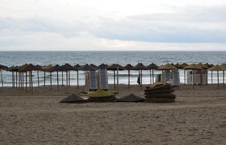 La gota fría deja lluvias moderadas en Marbella durante el fin de semana
